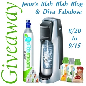 SodaStream Giveaway 8/20-9/15