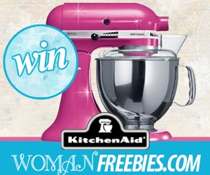 Enter to win a KitchenAid Stand Mixer! Ends 12/28!
