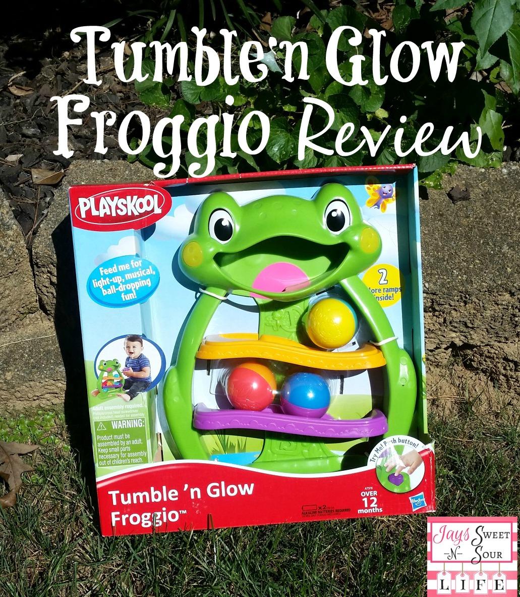 Hasbro – Tumble N' Glow Froggio Review