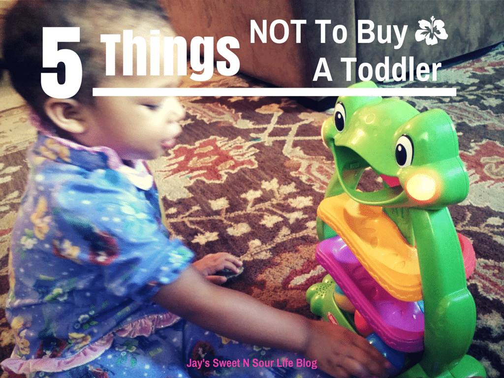 5 Things NOT To Buy A Toddler