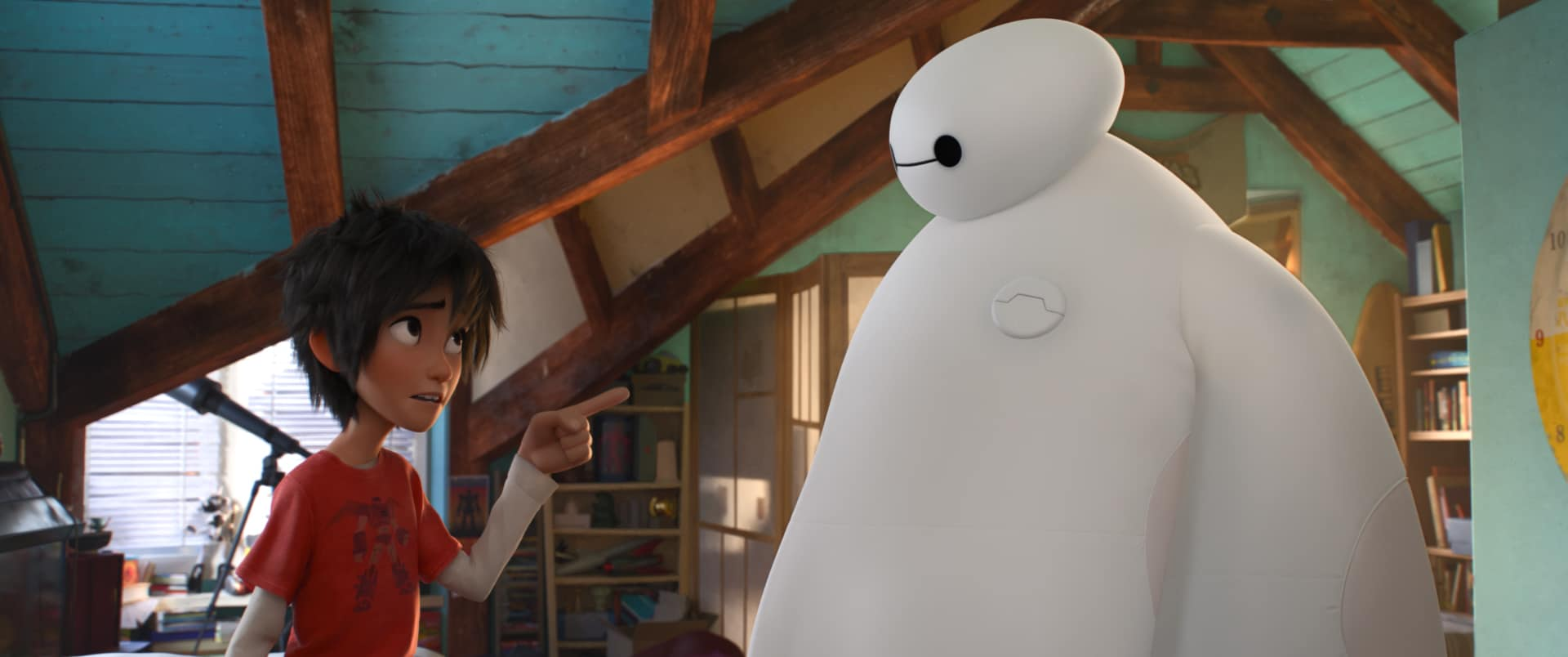 Disney's Big Hero 6 Coloring and Activity Pages