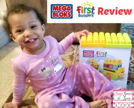 Mega Bloks First Builders ABC Spell School Bus Review