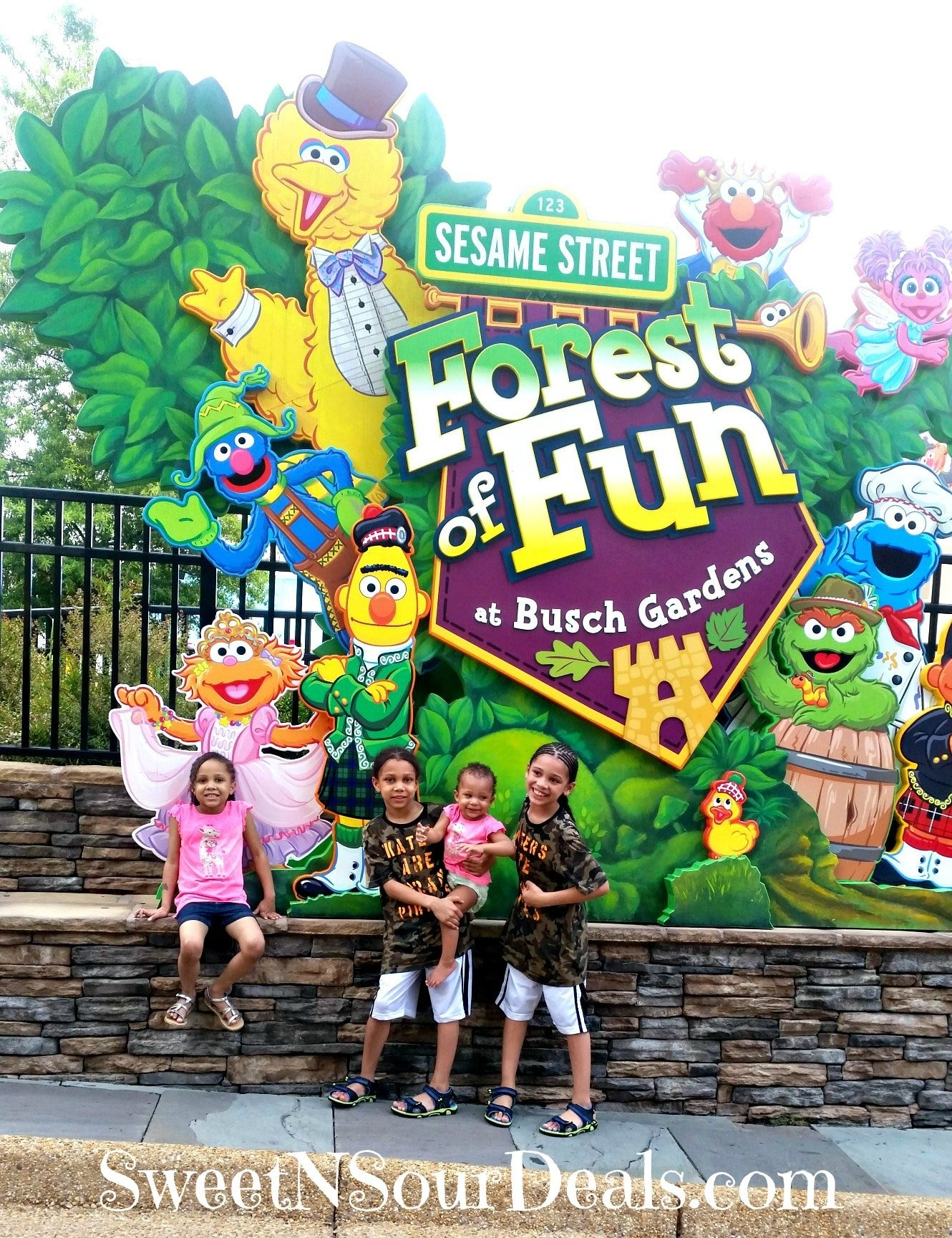 5 of the Best Fun & Kid Friendly Attractions at Busch Gardens Williamsburg
