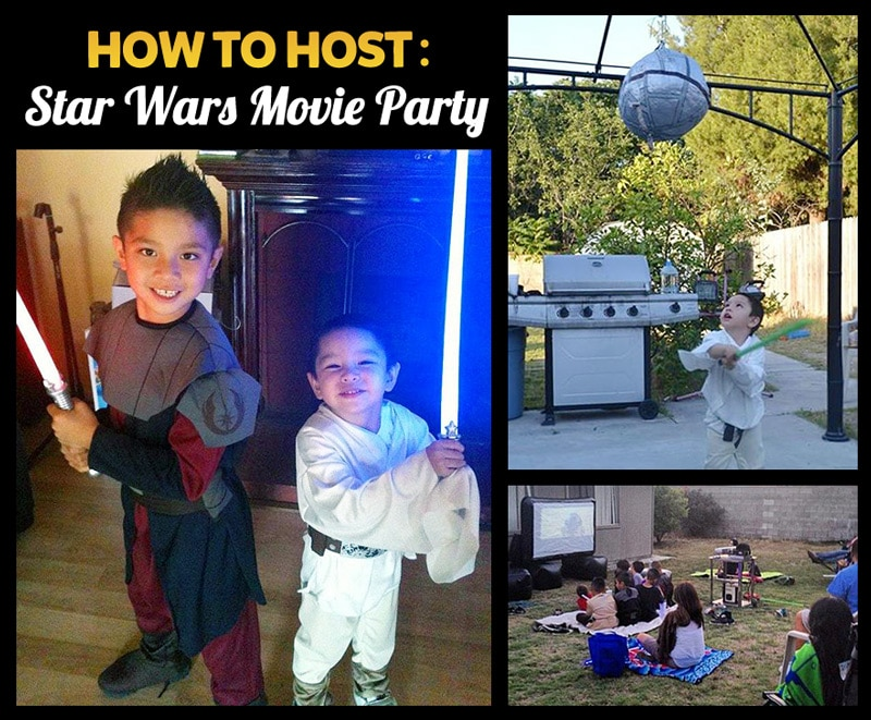 How To Host a Backyard Star Wars Viewing Party