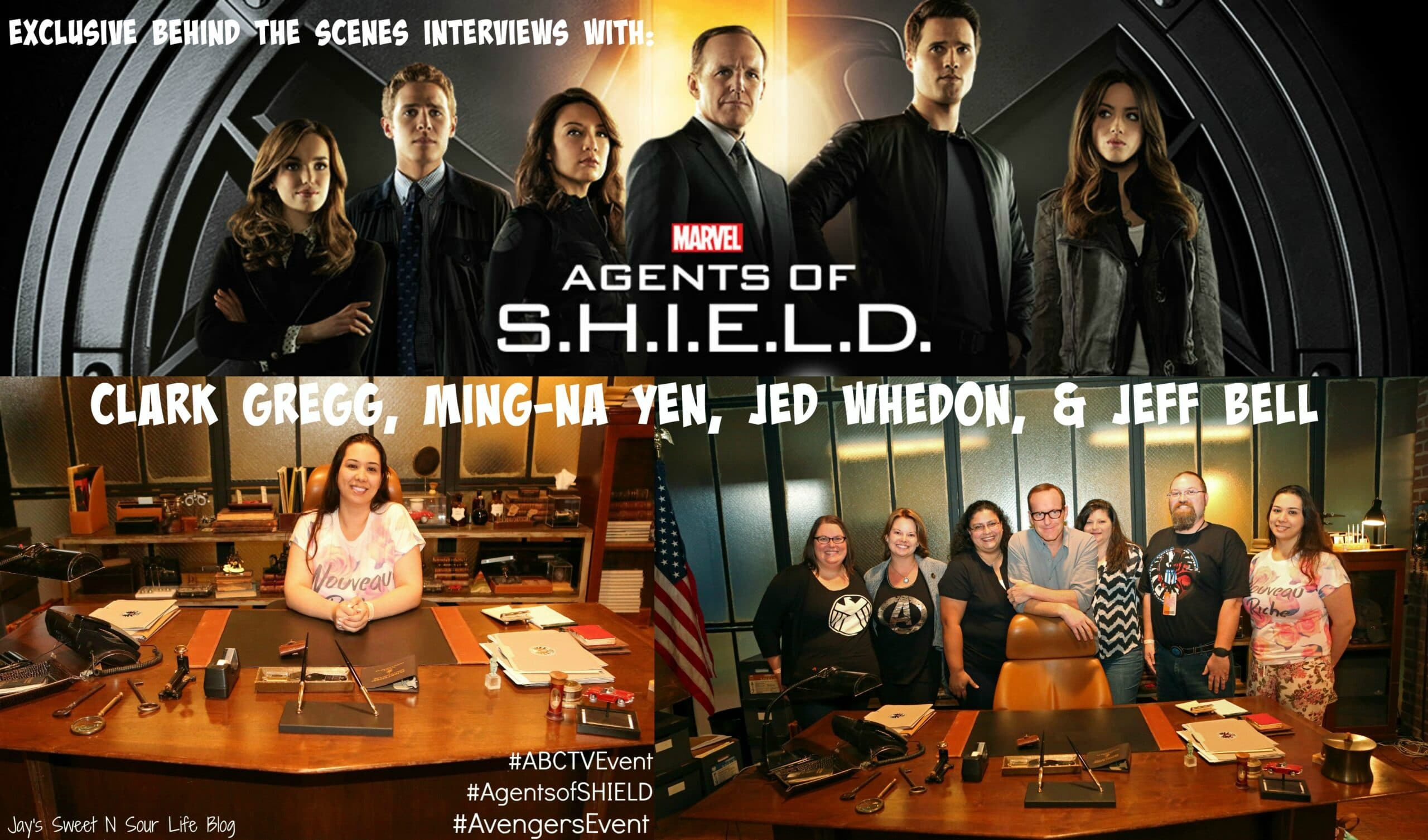 Exclusive Behind The Scenes Interviews With Marvel's Agents of S.H.I.E.L.D with Clark Gregg, Ming-Na Yen, Jed Whedon, & Jeff Bell ~ #ABCTVEvent #AgentsofSHIELD