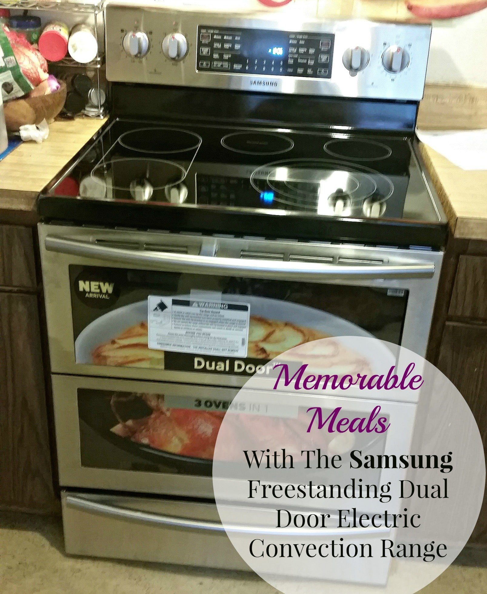 Creating Memorable Meals With The Samsung Freestanding Dual Door Electric Convection Range