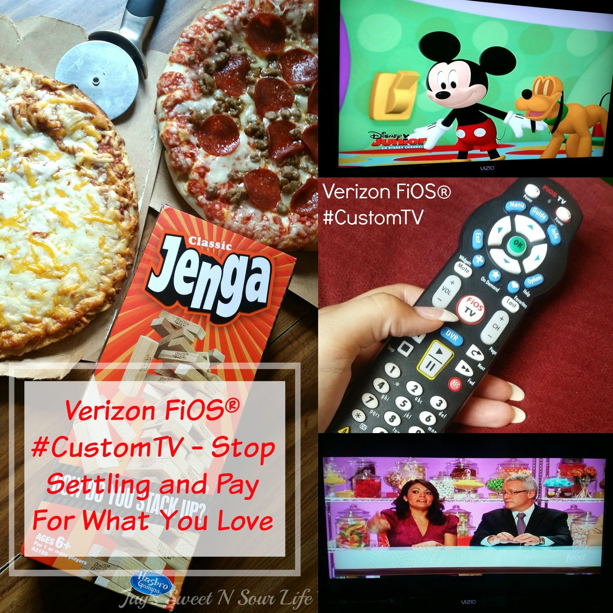 Verizon FiOS® #CustomTV – Stop Settling and Pay For What You Love
