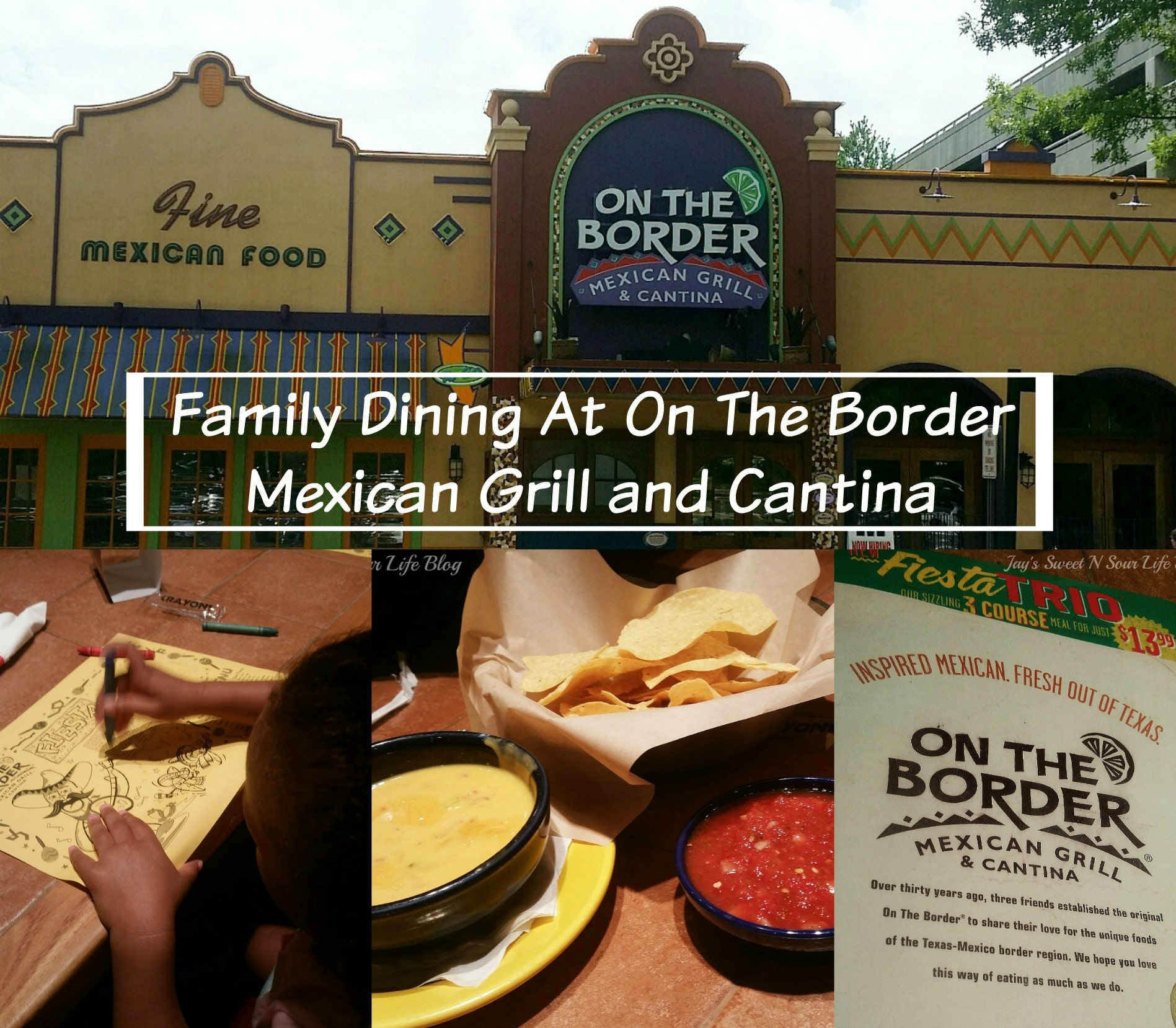 Family Dining At On The Border Mexican Grill and Cantina