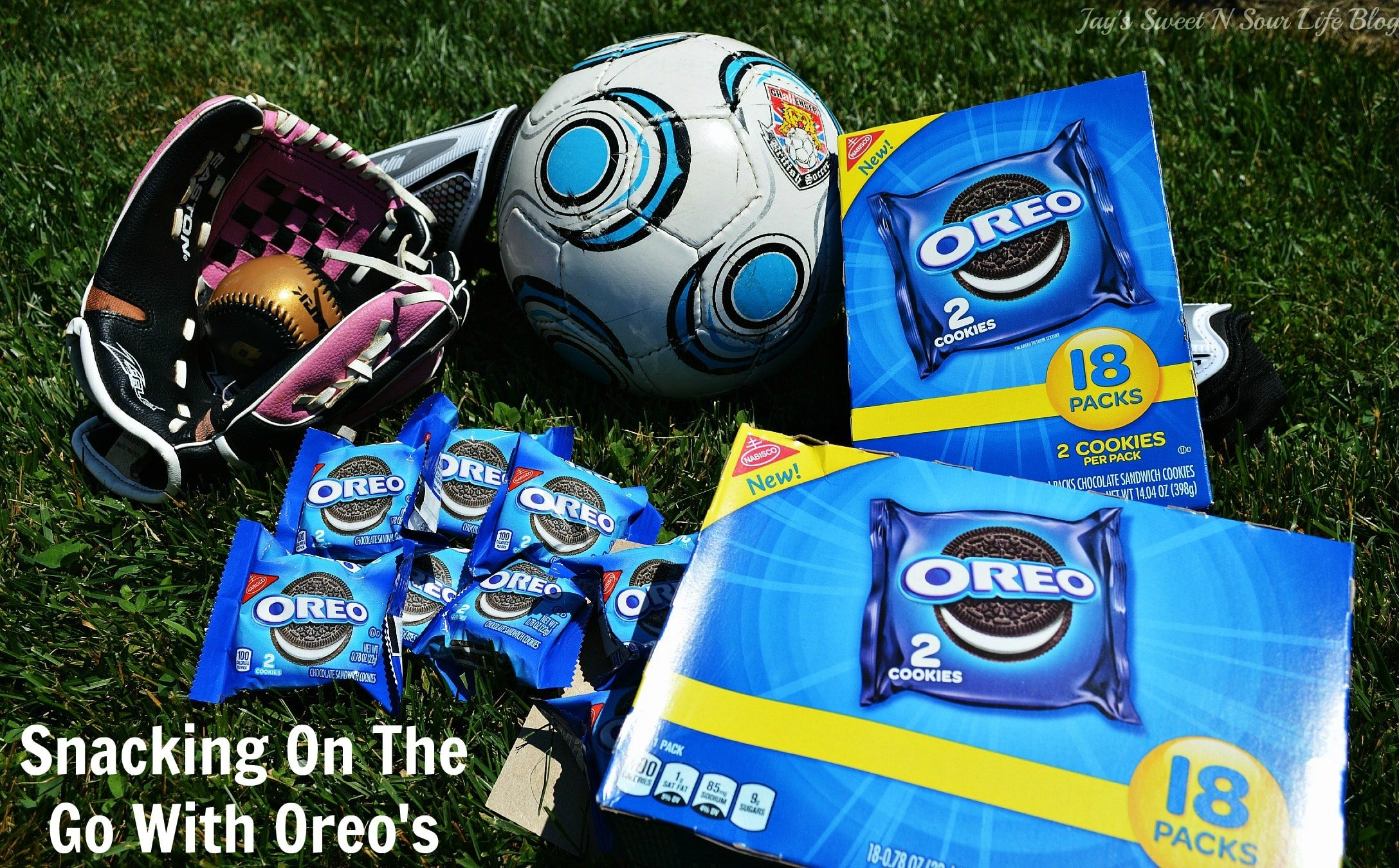 Snacking On The Go With Oreo's