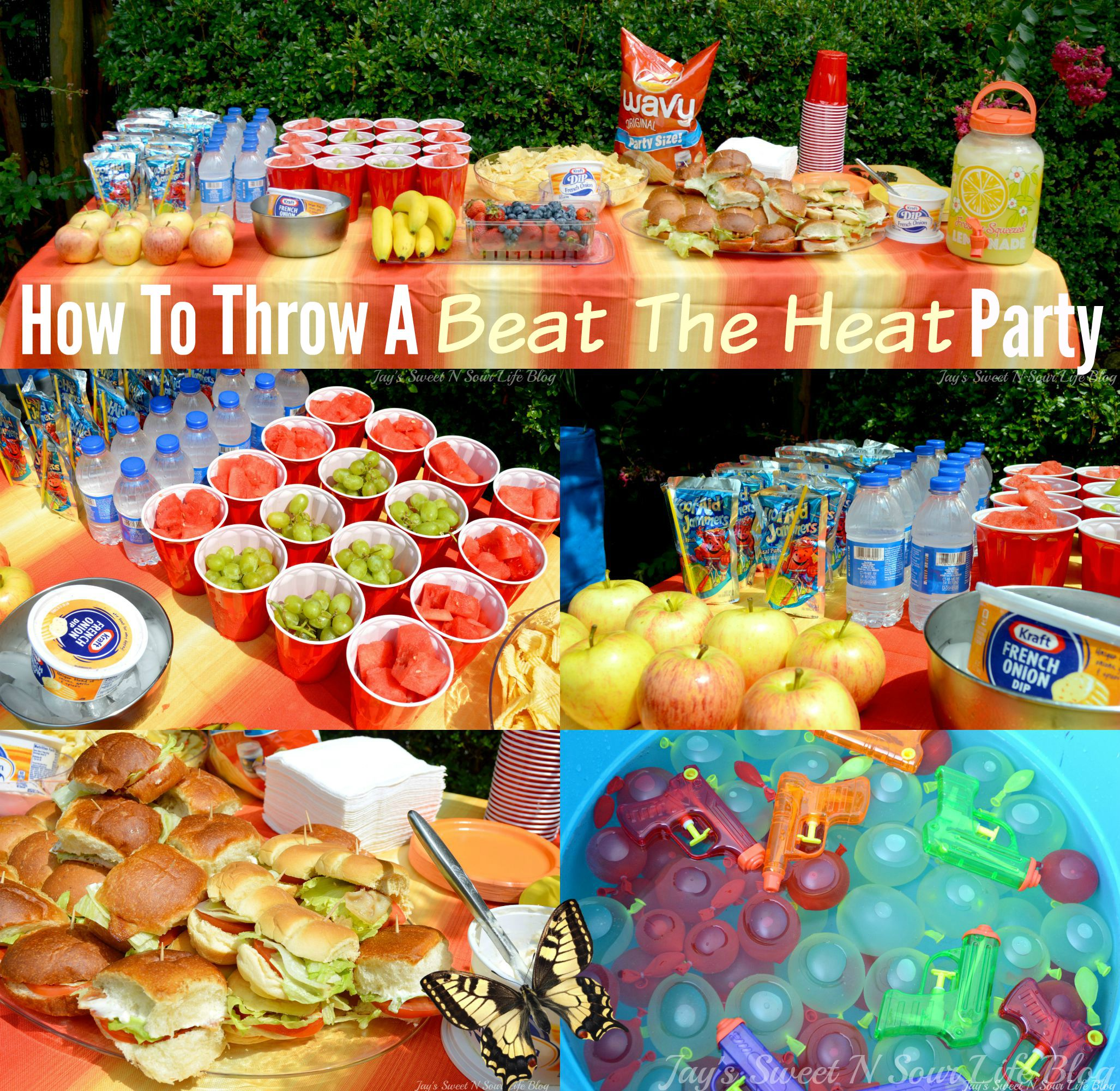 How To Throw A 'Beat The Heat' Party