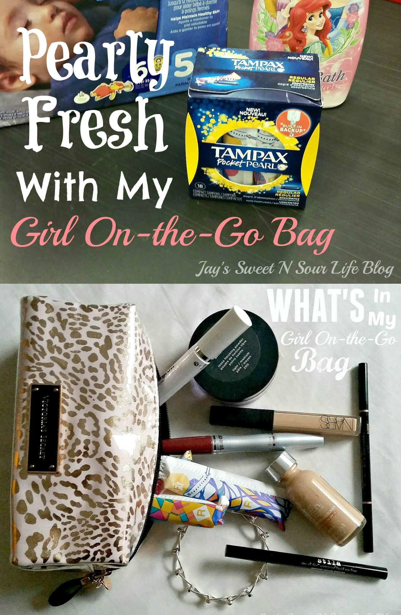 Pearly Fresh With My Girl On-the-Go Bag