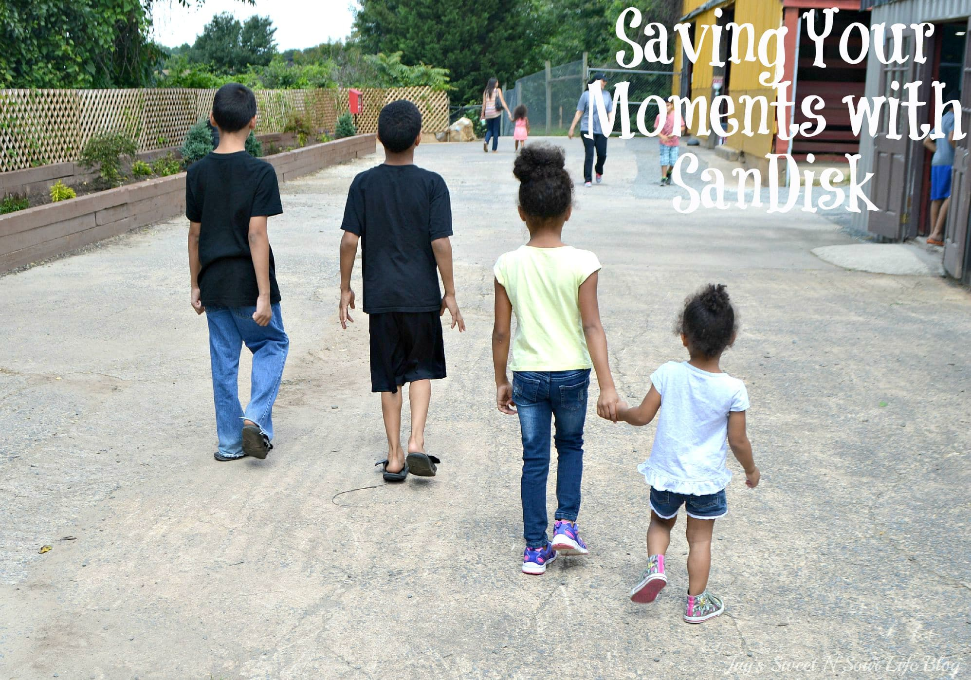 Saving Your Moments with SanDisk