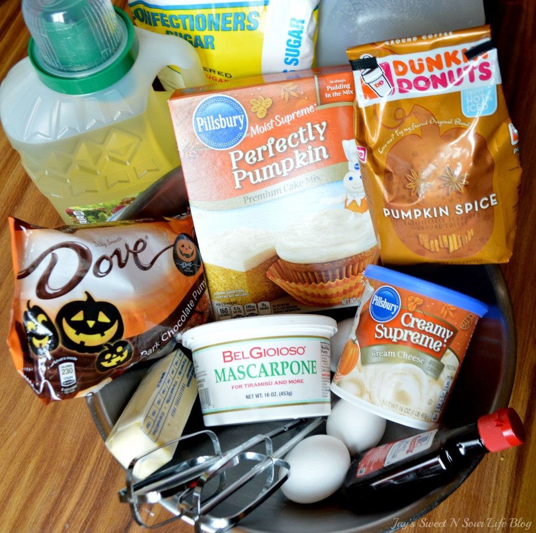 Pumpkin Tiramisu Ingredients. Fall means pumpkin and whats fall without pumpkin flavored desserts. Enjoy a slice of this amazingly easy to make Pumpkin Tiramisu with your morning cup of coffee.