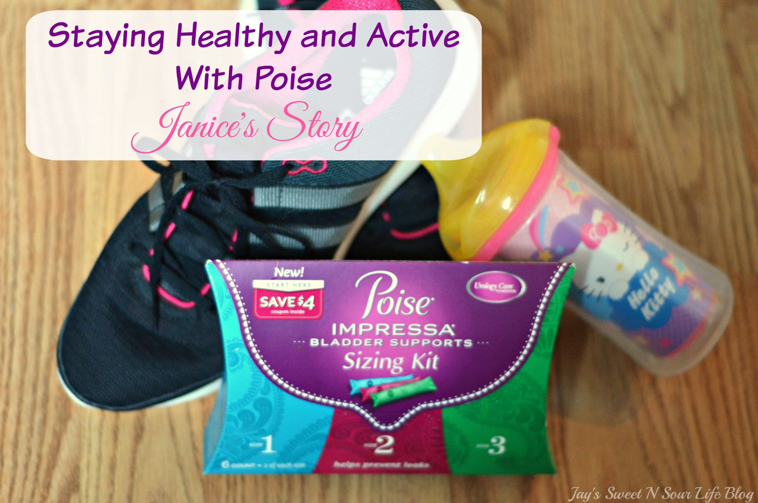 Staying Healthy and Active With Poise – Janice's Story