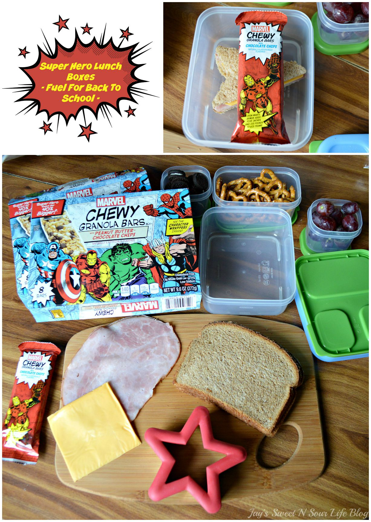 Super Hero Lunch Boxes – Fuel For Back To School