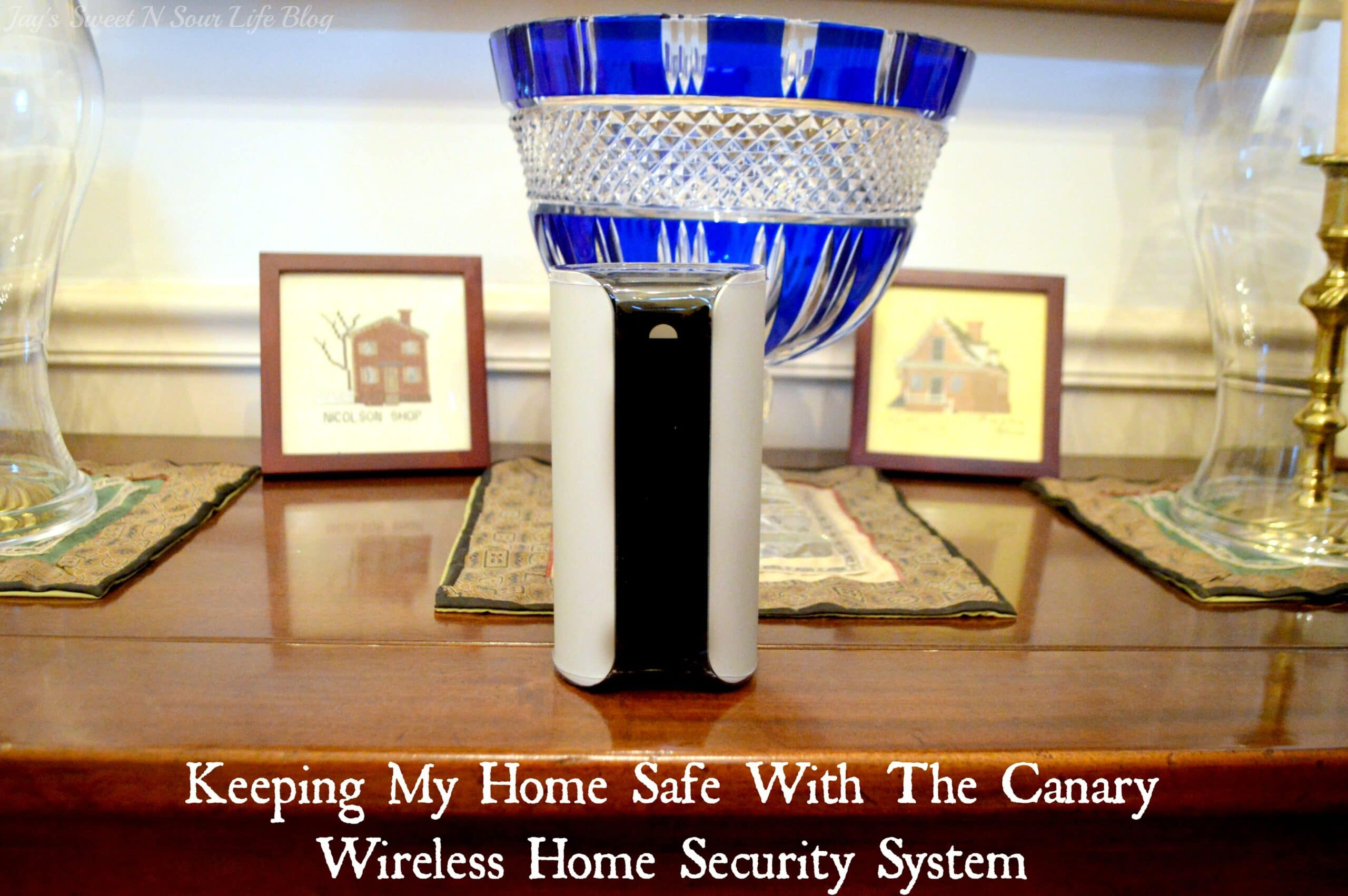 Keeping My Home Safe With The Canary Wireless Home Security System
