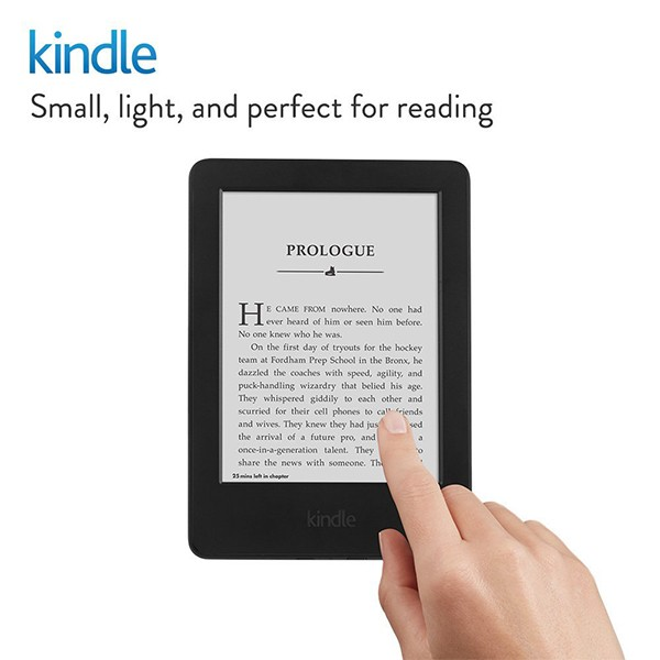 """Kindle 6"""" Glare-Free Touchscreen Display with WiFi Giveaway"""