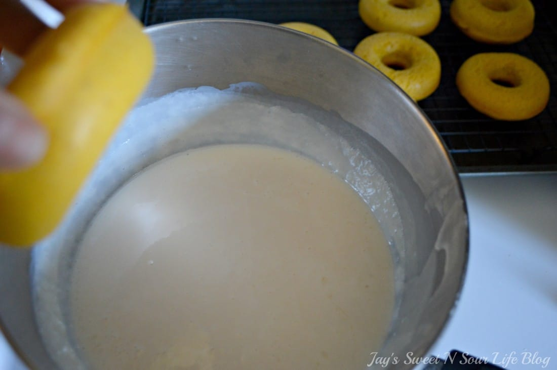 Baked Buttermilk Pumpkin Donuts step 25. Calling all pumpkin lovers! Try my moist Baked Buttermilk Pumpkin Donut Recipe. Frosted with cream cheese and baked to perfection in my No Yeast Recipe.