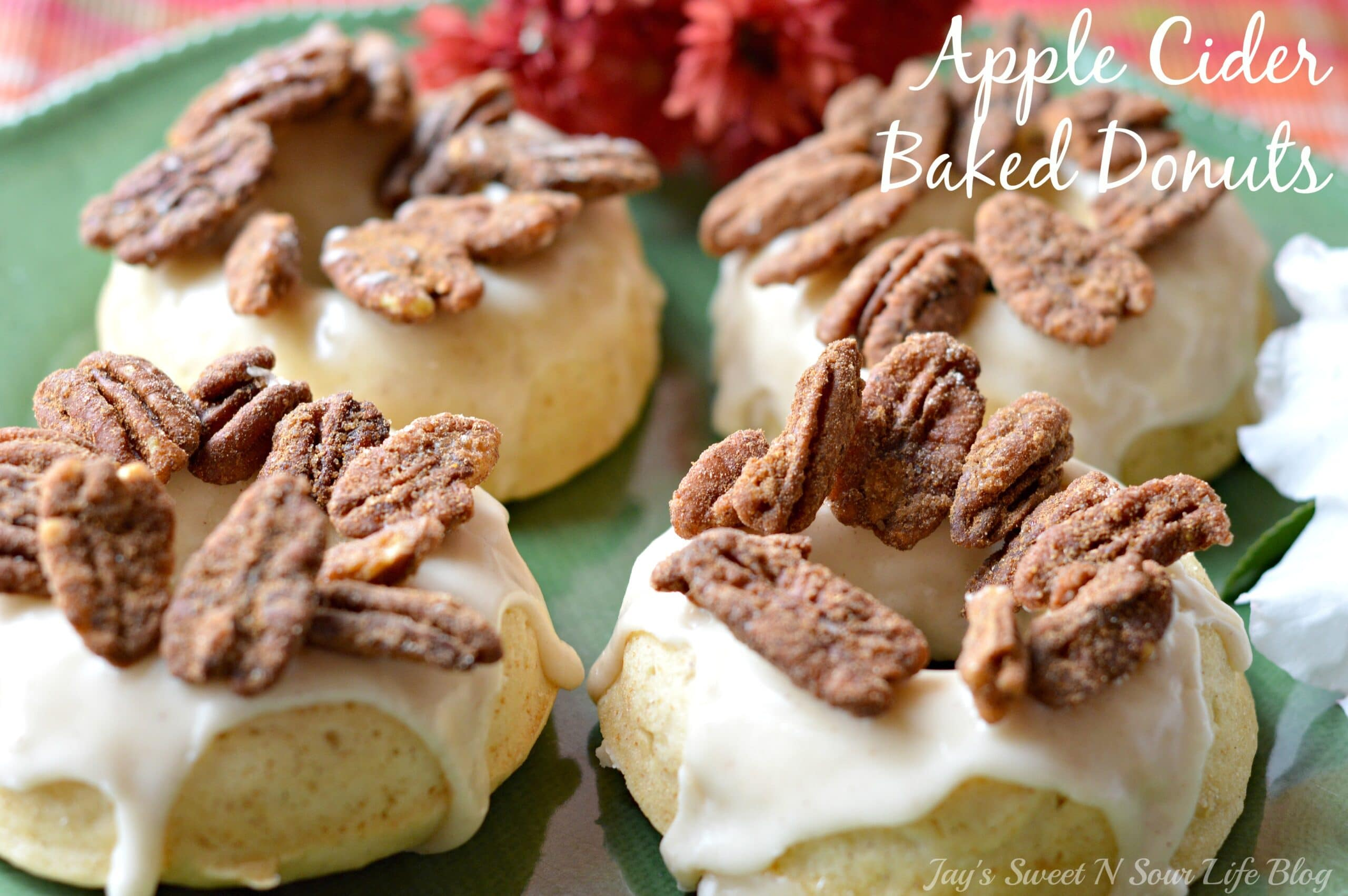Apple Cider Baked Donuts