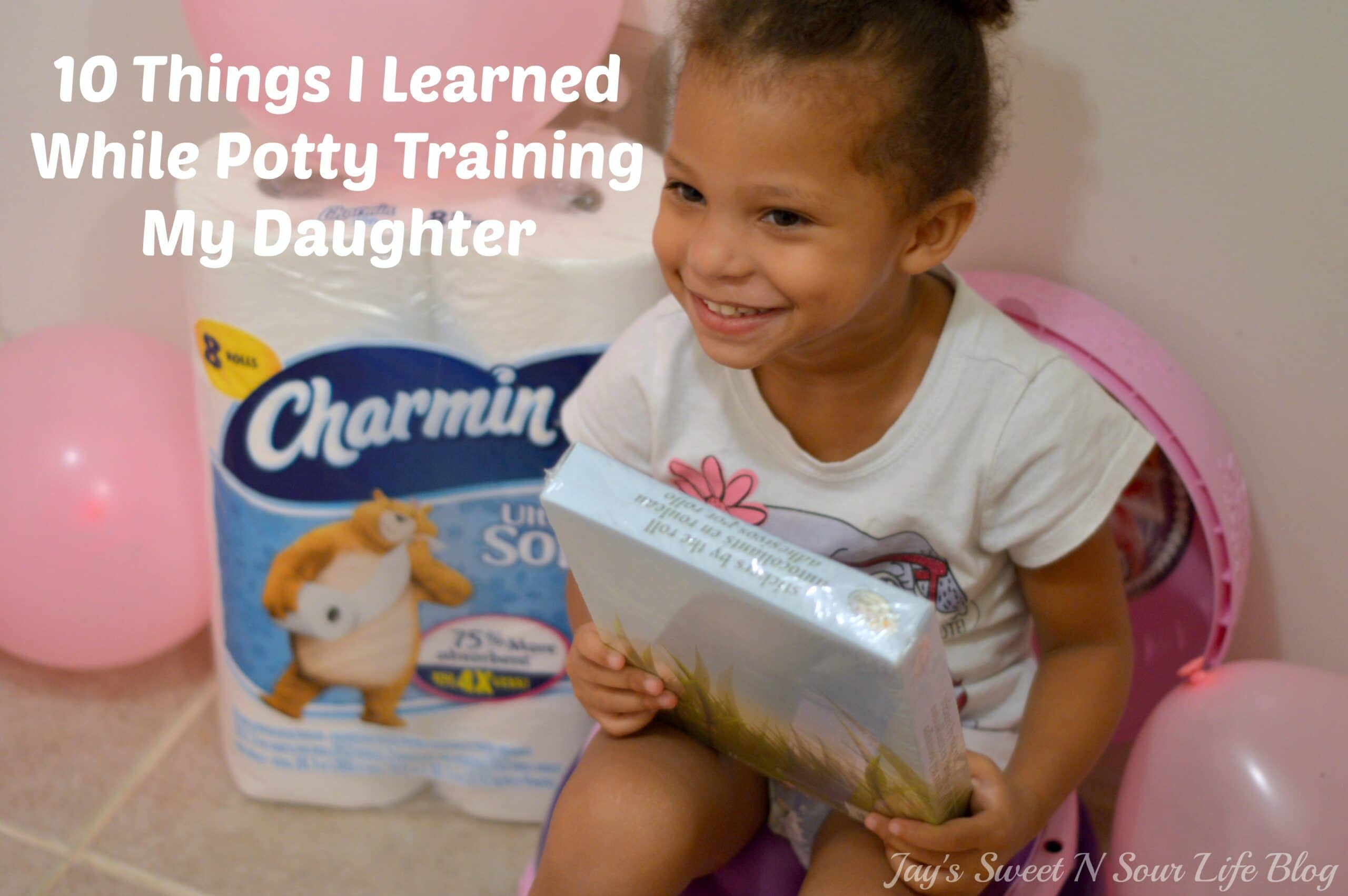 10 Things I Learned While Potty Training My Daughter