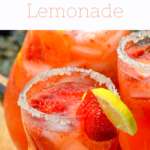 Homemade Strawberry Lemonade. Stop buying premade! Enjoy a freshly squeezed cup of Strawberry Lemonade on a warm sunny day, it's the perfect deliciously refreshing way to cool off. Everything tastes better homemade!