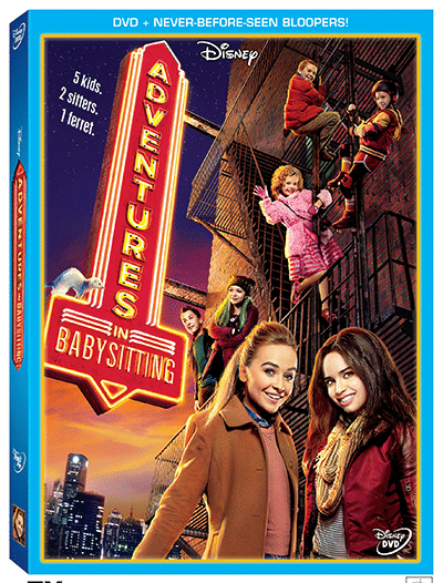 Disney's Adventures In Babysitting Available On DVD June 28th – The 100th Disney Channel Original Movie