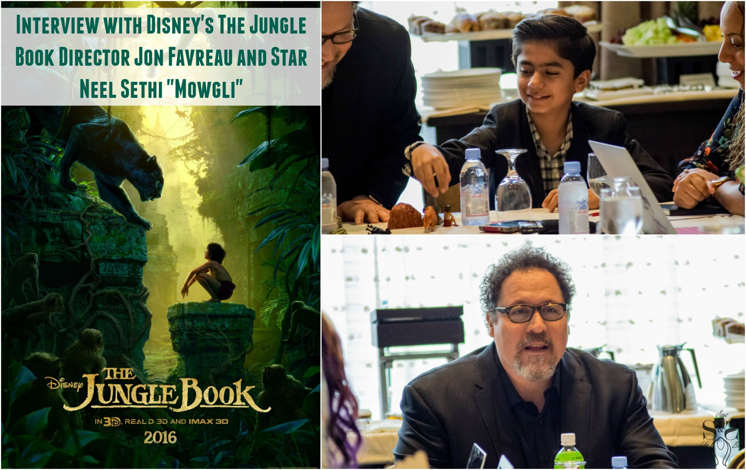 "Exclusive Interview with Disney's The Jungle Book Director Jon Favreau and Star Neel Sethi ""Mowgli"""