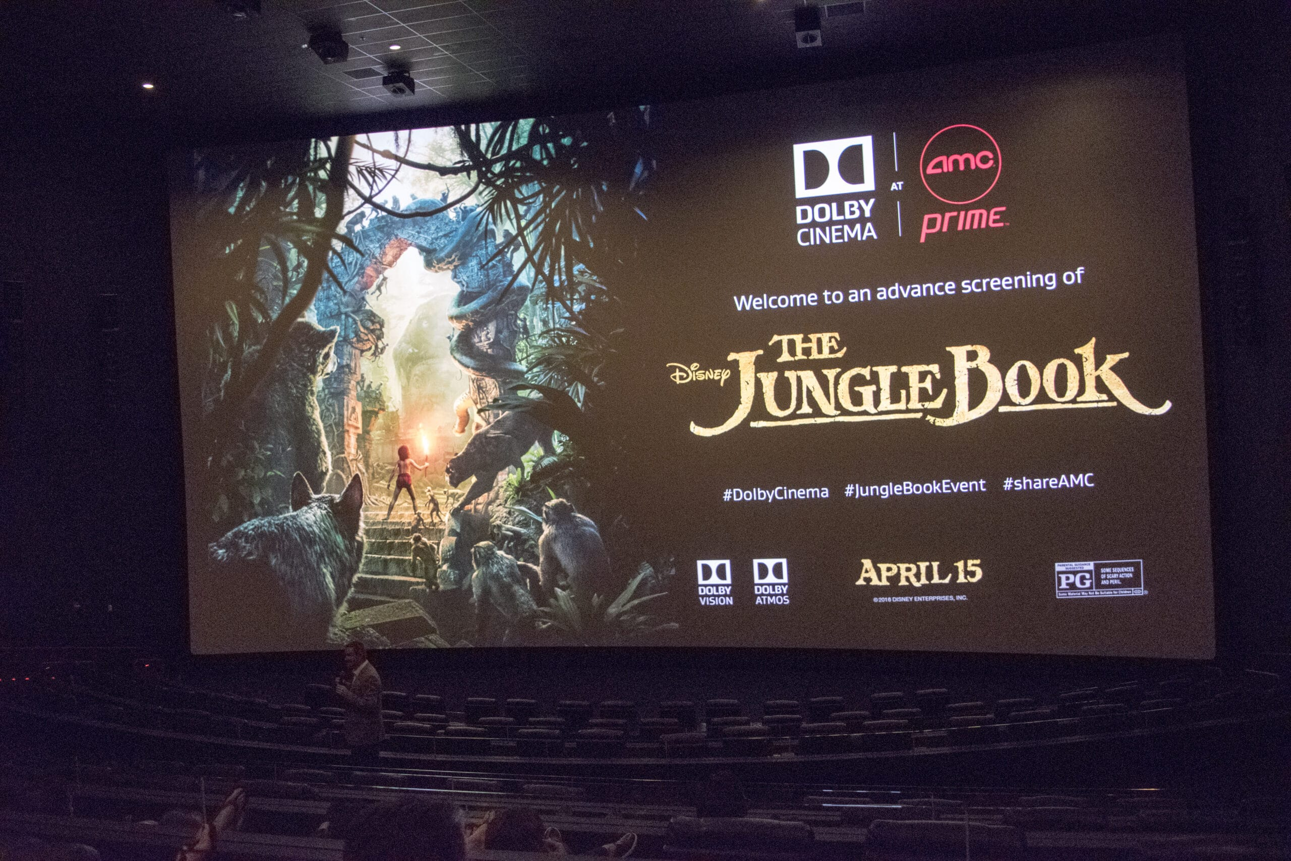 For a limited time, you can catch Disney's The Jungle Book in Dolby Cinema at AMC Prime. Read my full movie review along with reasons why you should experience The Jungle Book in an AMC Prime theater near you.