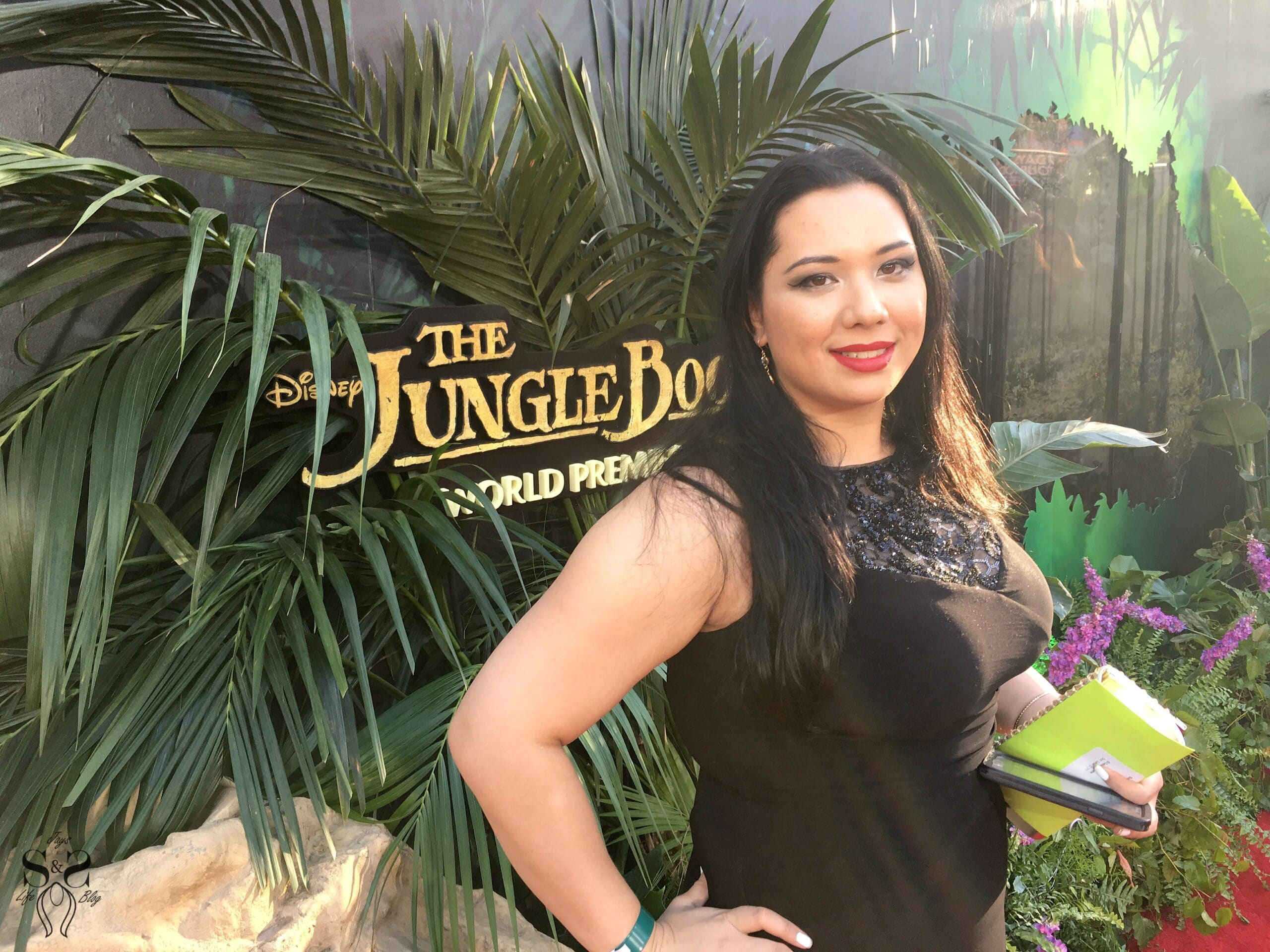 Walking The Red Carpet In LA for Disney's The Jungle Book World Premier