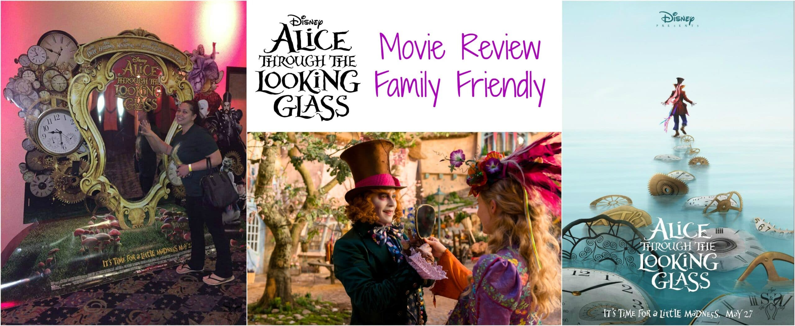 Alice Through The Looking Glass Movie Review – Family Friendly