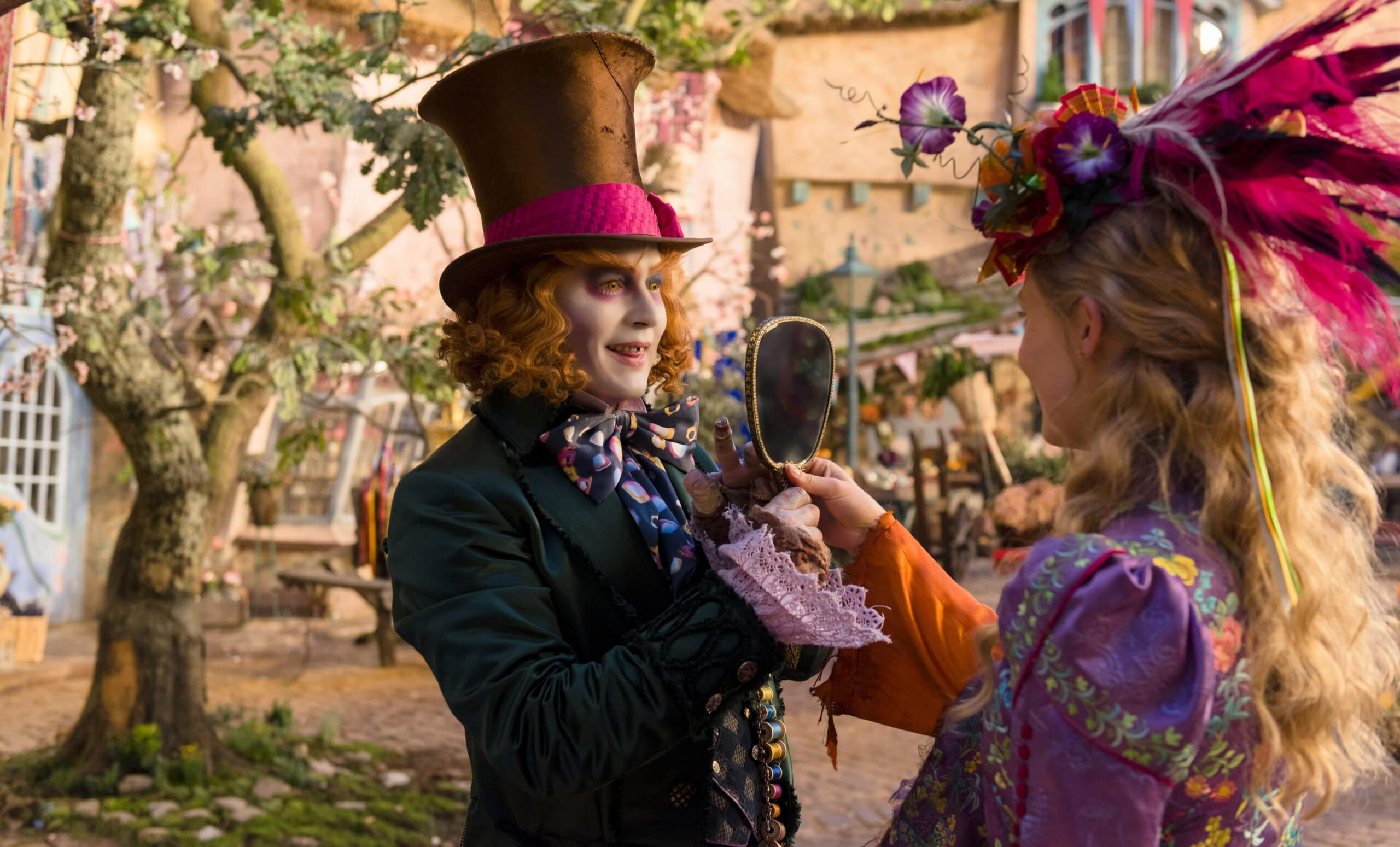 Disney's Alice Through The Looking Glass Activity Sheets