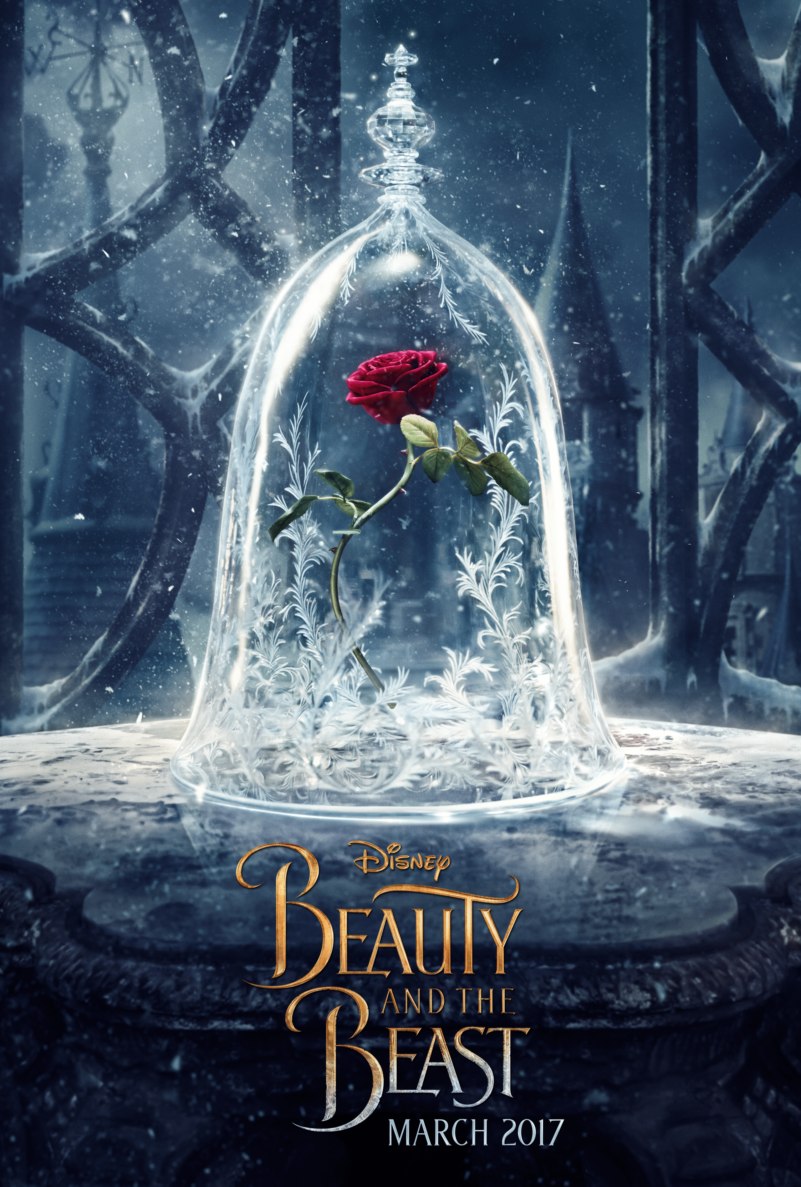Disney's Beauty and the Beast Teaser Poster