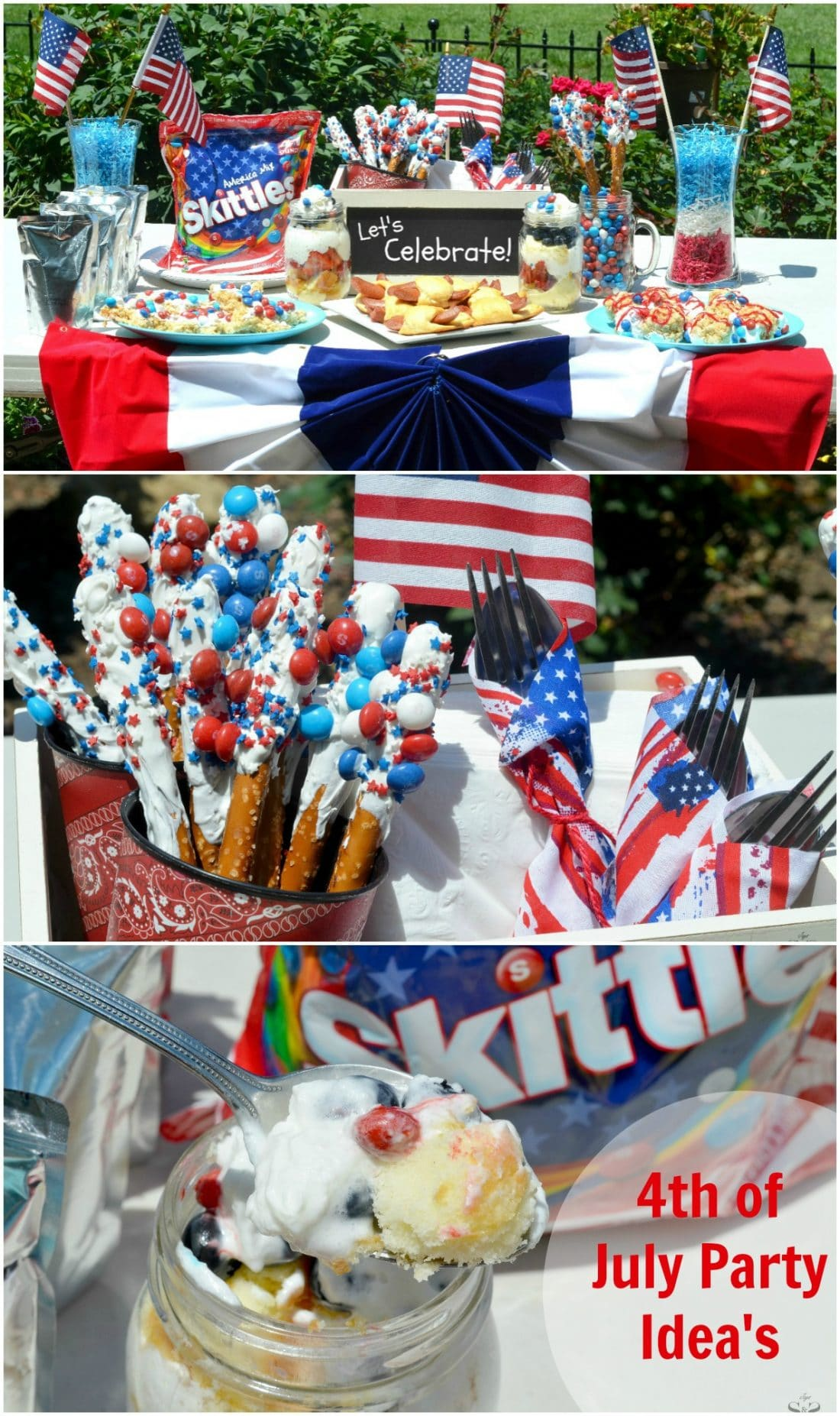 Skittles 4th of July Ideas shareable