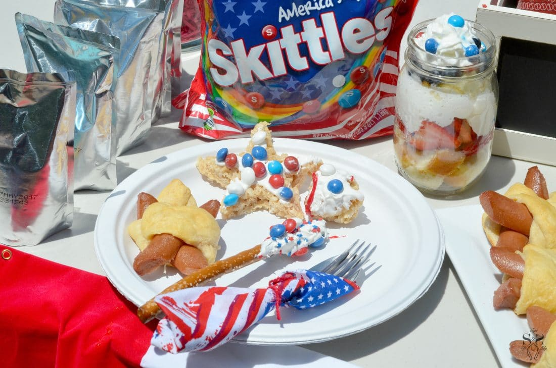 Skittles 4th of July Ideas table 7