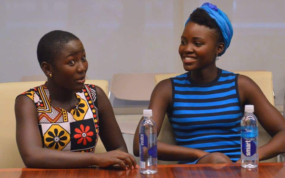 Queen of Katwe Interview With Lupita Nyong'o, Madina Nalwanga, Martin Kabanza