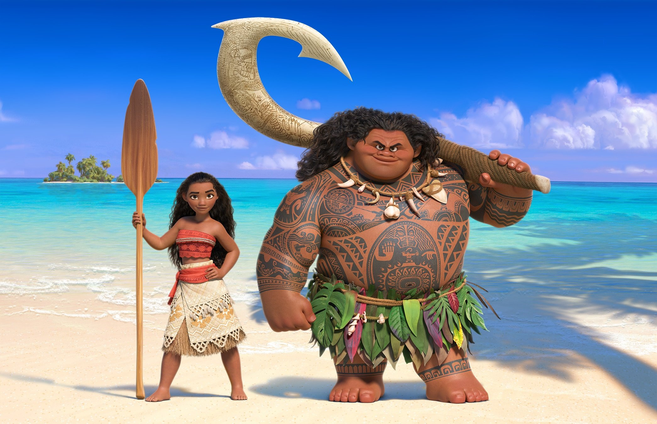 Disney's Moana Featurettes and Music Clips