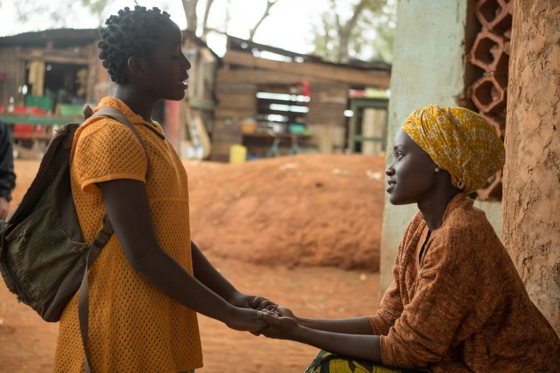 Oscar (TM) winner Lupita Nyong'o is Nakku Harriet and newcomer Madina Nalwanga is Phiona Mutesi in Disney's QUEEN OF KATWE, the vibrant true story of a young girl from the streets of rural Uganda whose world rapidly changes when she is introduced to the game of chess. Newcomer Madina Nalwanga also stars in the film, directed by Mira Nair.