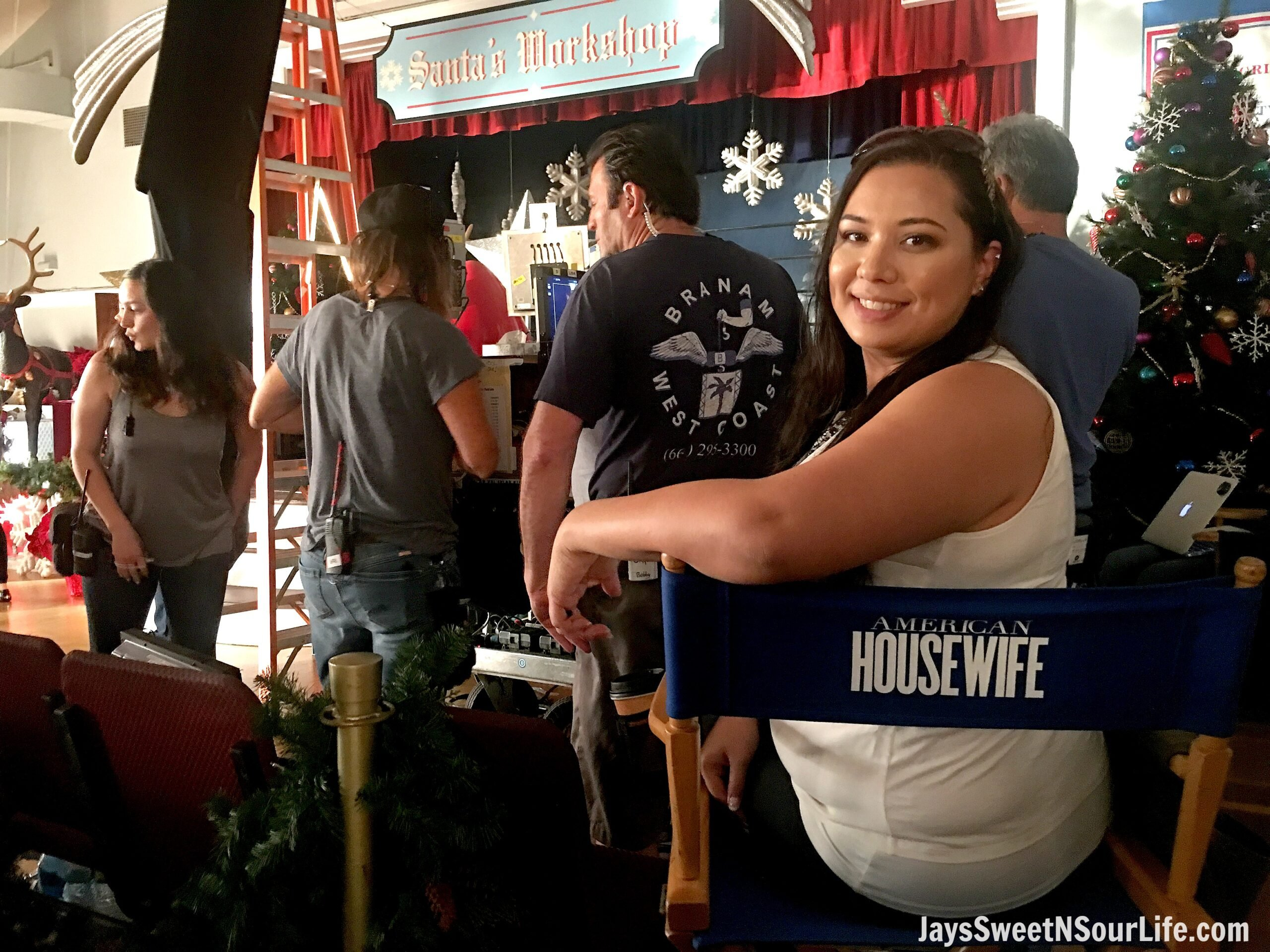 Ever wondered what goes on behind the scenes of your favorite tv shows? Well today I'm spilling the beans about my trip Behind the Scenes with ABC's American Housewife. Checkout all the details and photos of places you might recognize from the show!