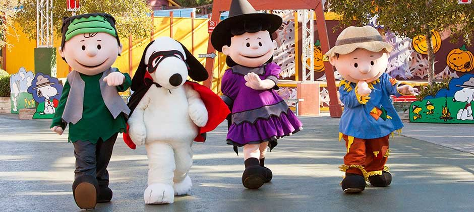 Upcoming Trip to Kings Dominion For Charlie Brown's 50th Anniversary Pumpkin Fest