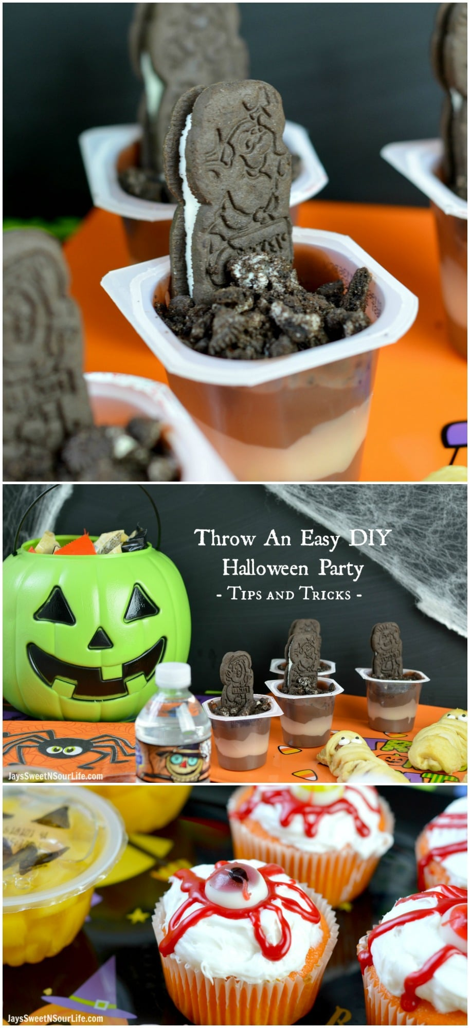 Throw An Easy DIY Halloween Party - Tips and Tricks - Jays Sweet N ...