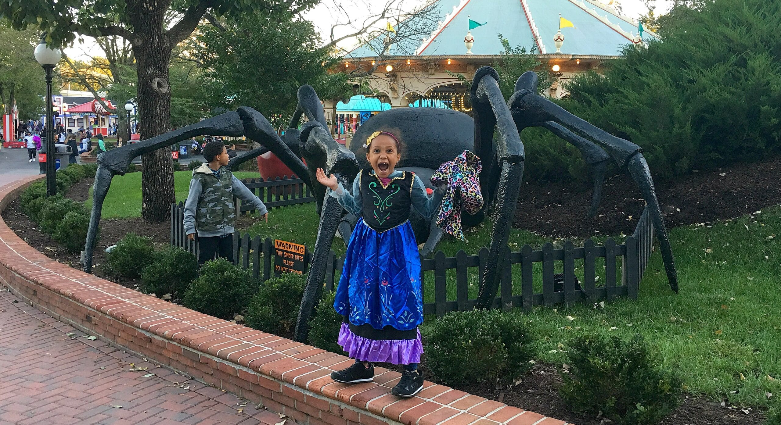 Travel Log: Kings Dominion Charlie Brown's 50th Anniversary Great Pumpkin Fest