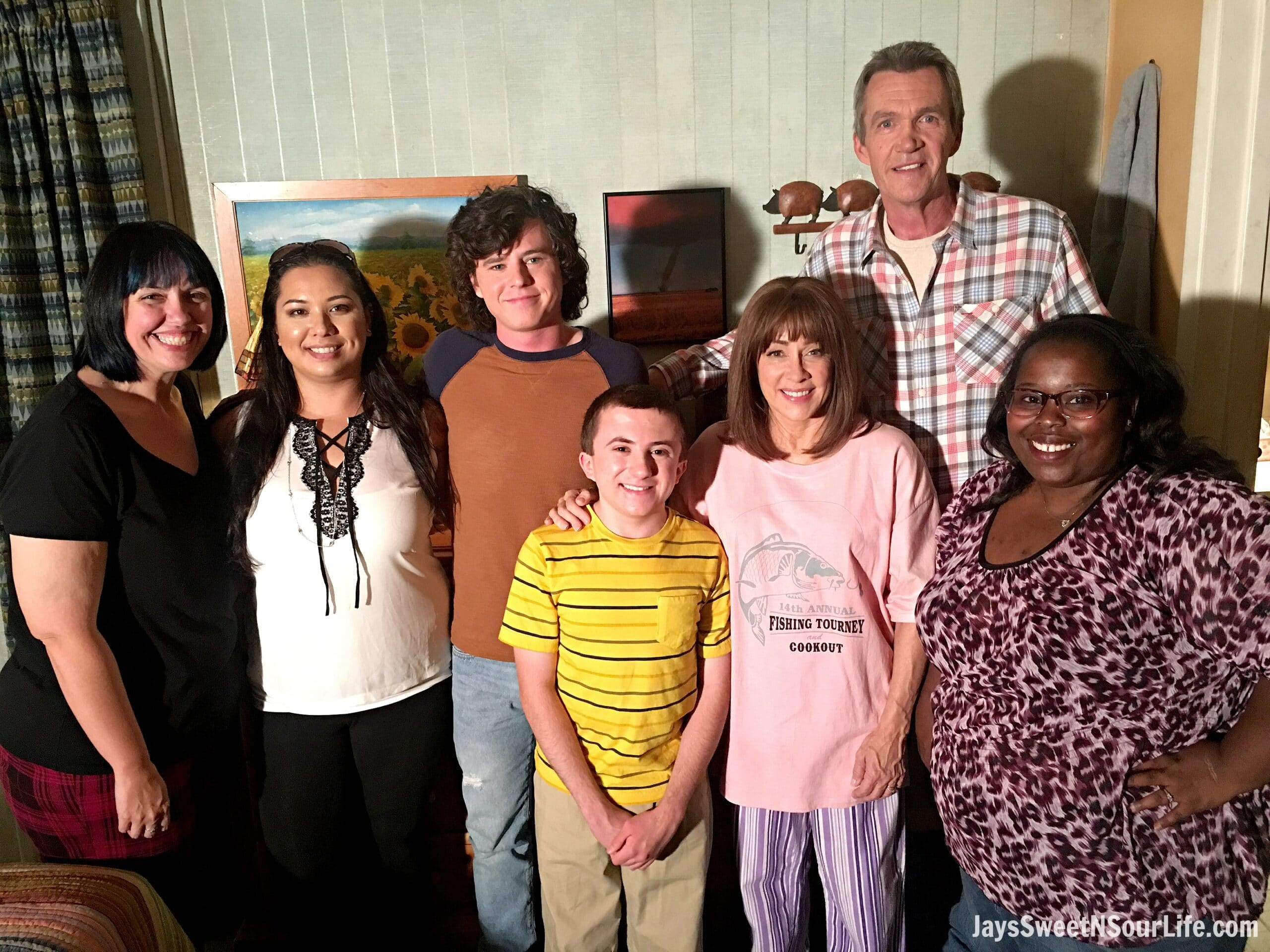 Walking The Set of The Middle + Season 8 Sneak Peek #TheMiddle #ABCTVEvent