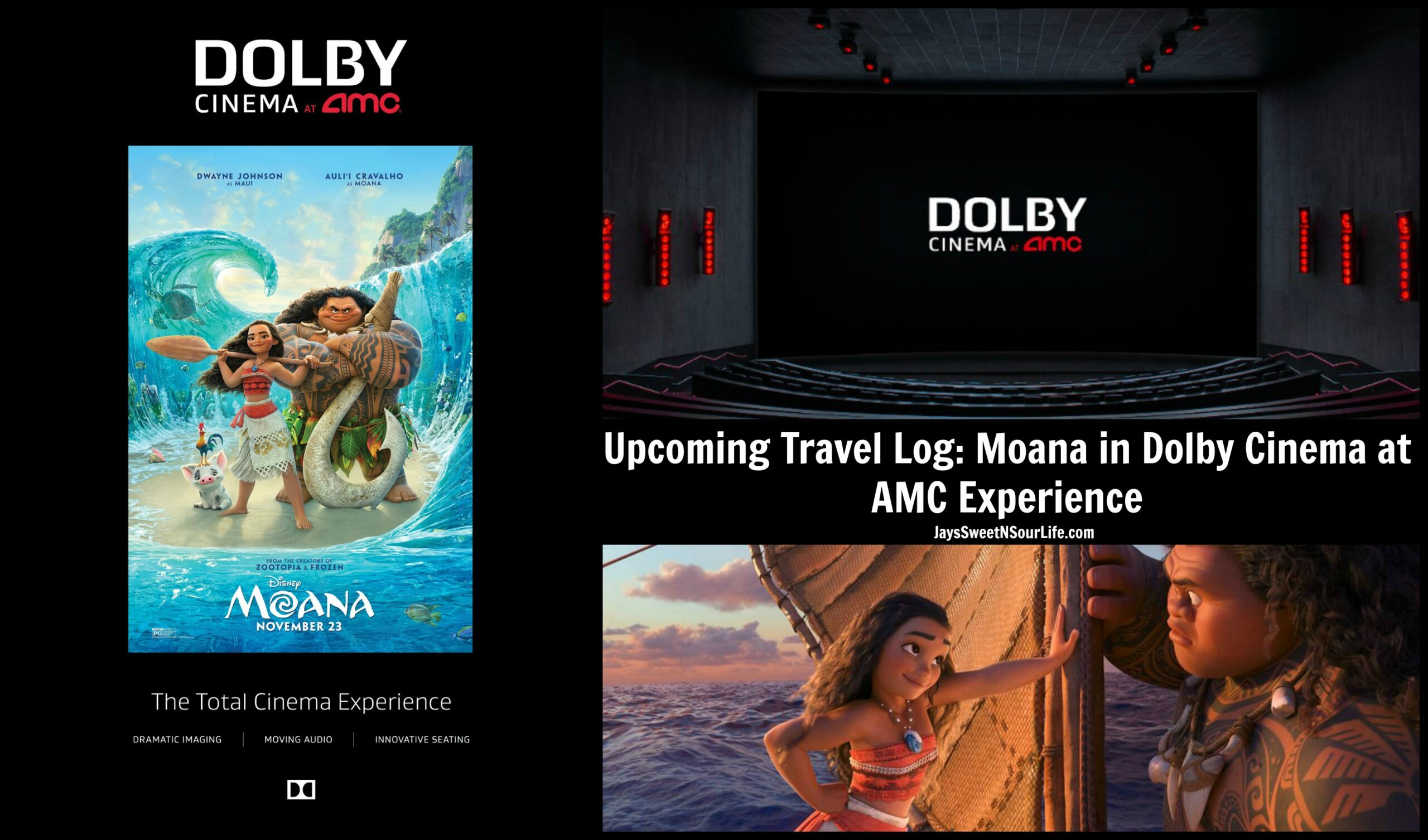 Willowbrook Amc 24 Upcoming Travel Log Moana In Dolby Cinema At Amc Experience