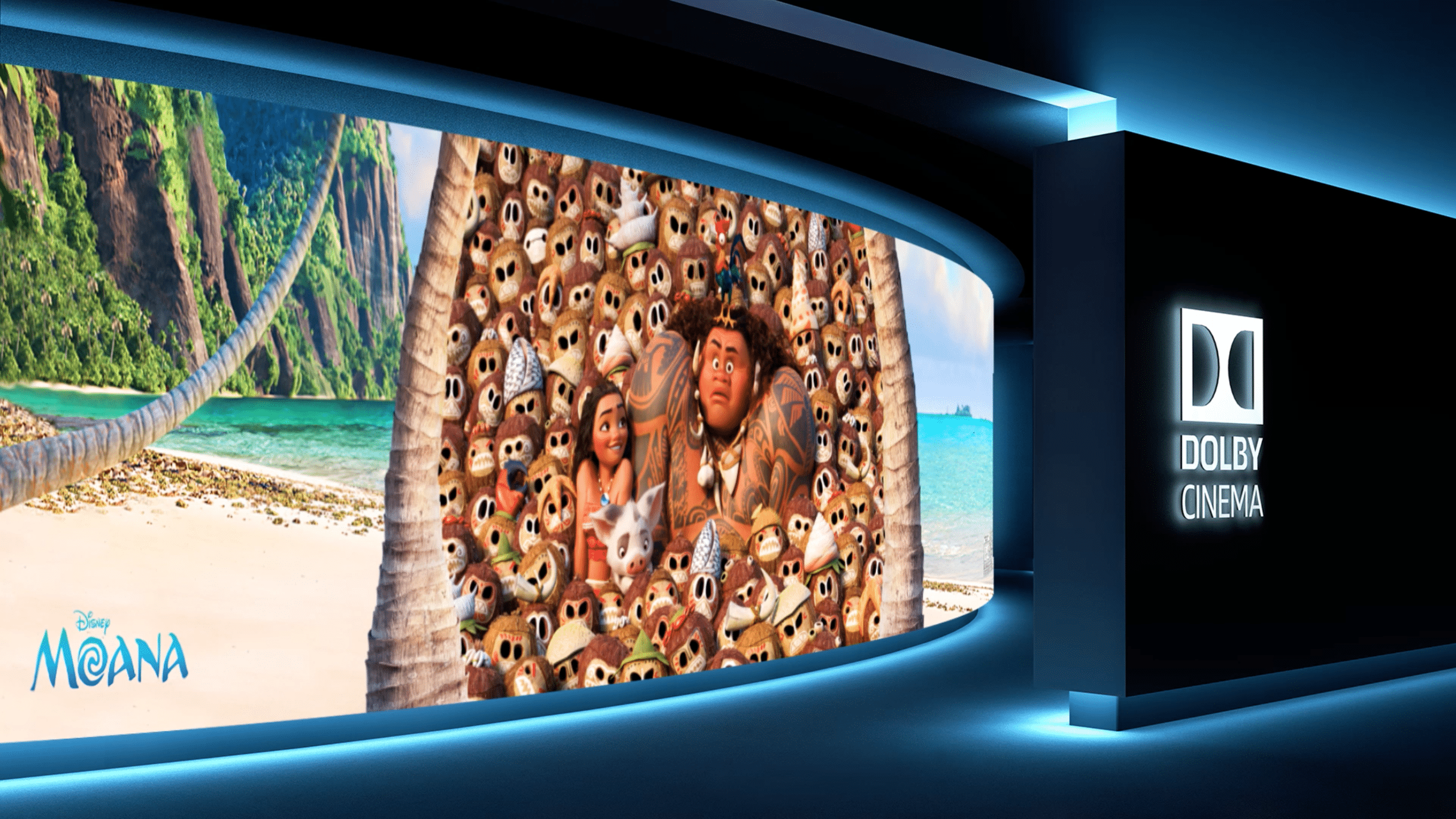 Disney's Moana Movie Review and Dolby Cinema in AMC Experience
