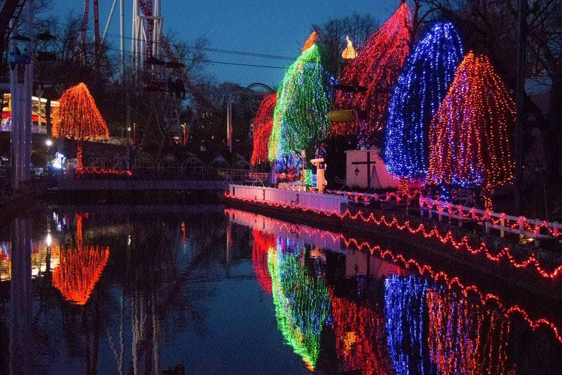 Hershey Park at Christmas Time