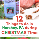 12 Things To Do In Hershey, PA During Christmas Time. Hershey, PA is a fun place to visit during Christmas time, find out 12 things you can enjoy while in Hershey, PA this Christmas.