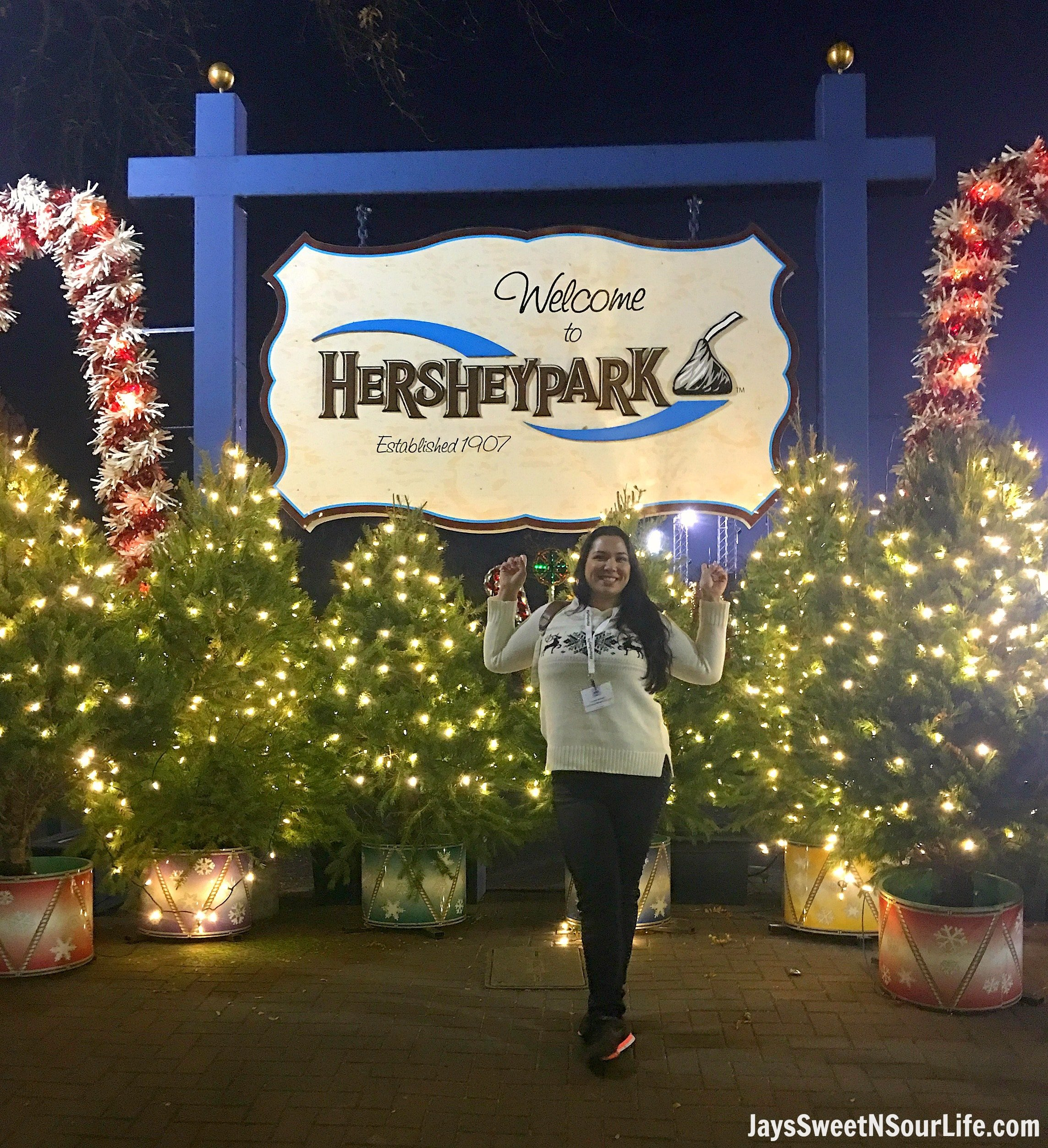 christmas candylane at hersheypark - Christmas At Hershey