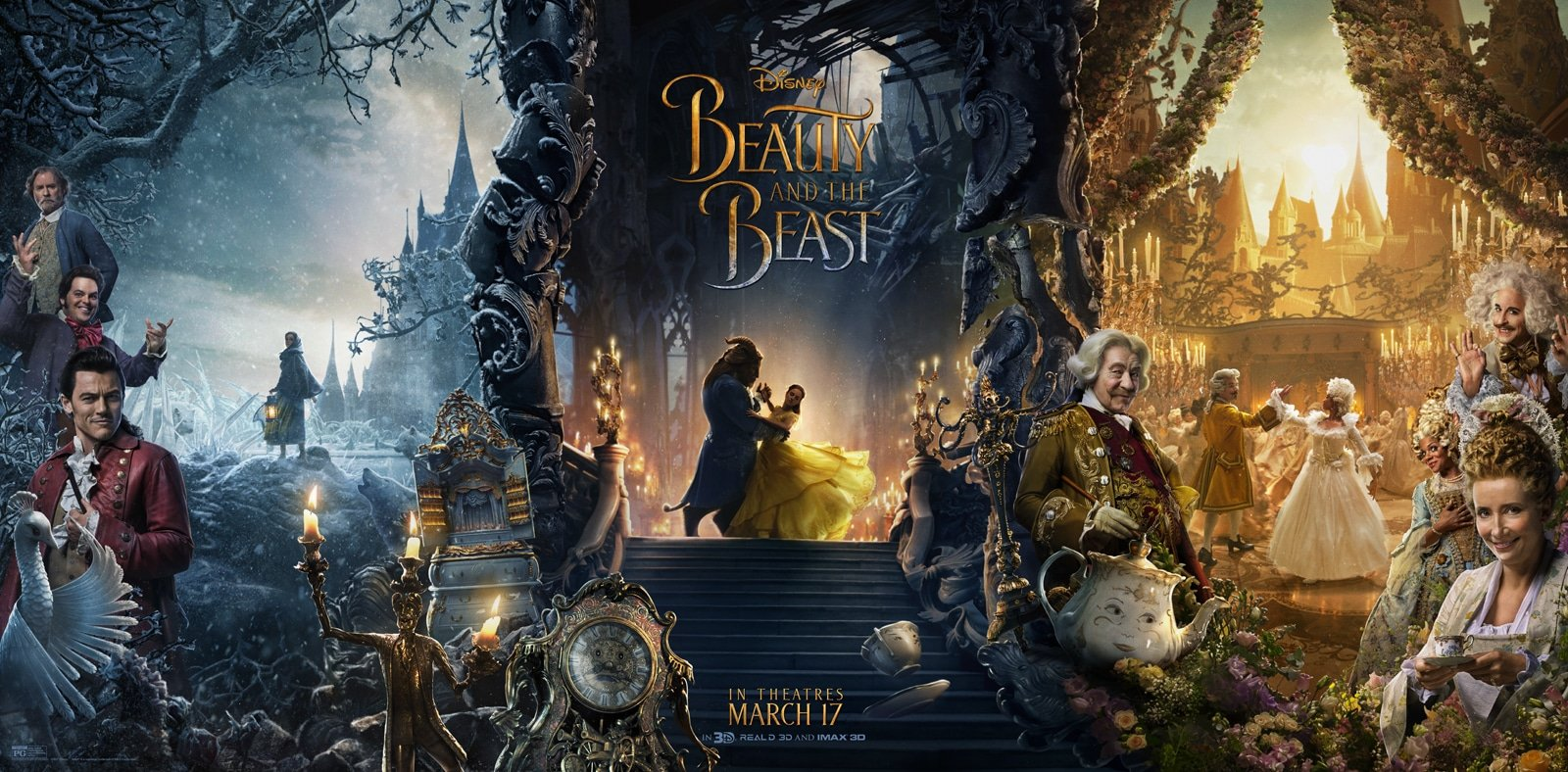 Disney's Beauty and the Beast – Final Trailer and Character Posters