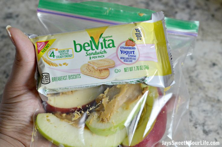 My Delicious Mornings With belVita