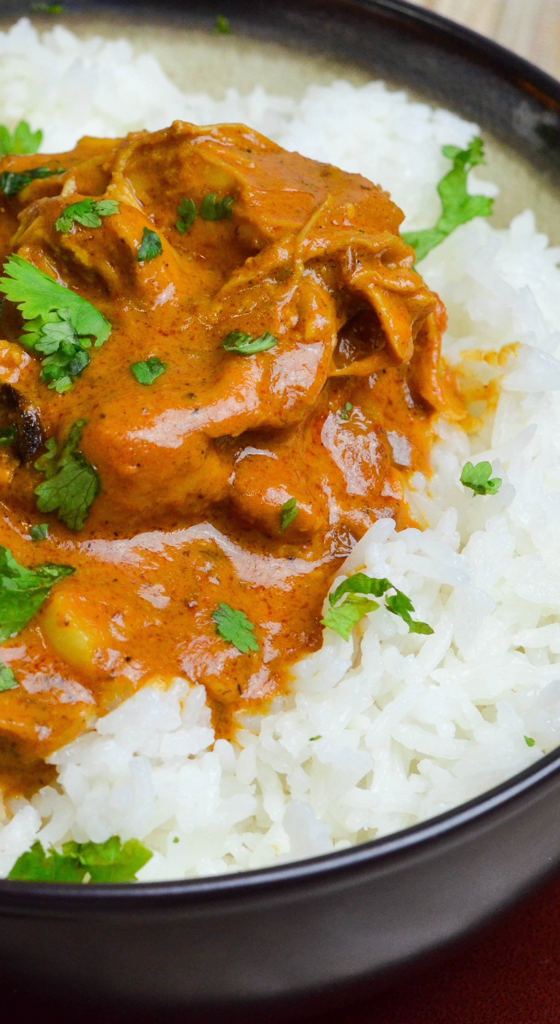This deliciously easy to make Instant Pot Indian Butter Chicken is the perfect family dinner. Serve it for your next family dinner with a side of Naan bread.